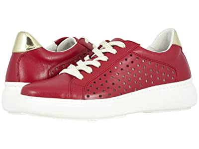 Johnston & Murphy Nora (Red Italian Nappa Leather) Women