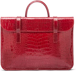 SAGEBROWN Luxury Leather Music Bag