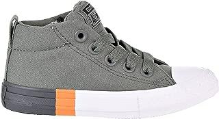 Converse Chuck Taylor All Star Street Mid Kid's Shoes River Rock/Black 659976f