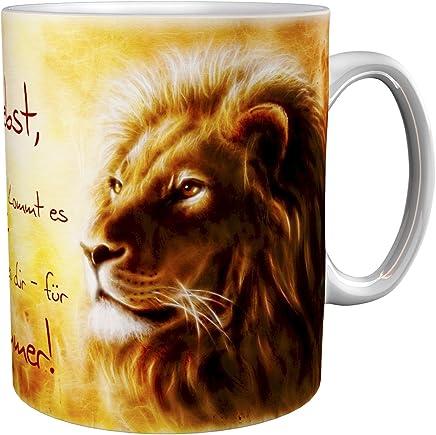 Preisvergleich für Kaffeetasse/Kaffeebecher / Löwen/Geschenktasse