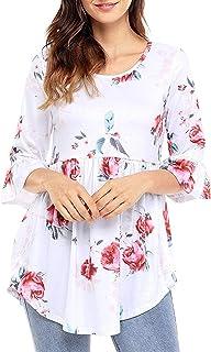 70e4ec44b Amazon.es: HaiDean - Camisetas, tops y blusas / Mujer: Ropa