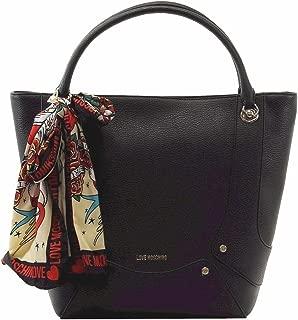 love moschino scarf handbag