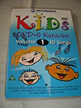Kids DVD+G Karaoke, Vol. 1 / 30 Songs / ENGLISH Audio / Classic Nursery Rhymes and Children Songs on DVD Video and Graphic / Vocal Options on All Songs [DVD Region 0 PAL]