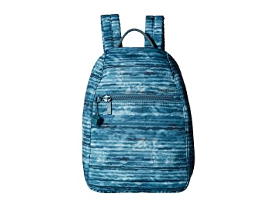 Hedgren Vogue RFID Backpack (Aqua Print) Backpack Bags