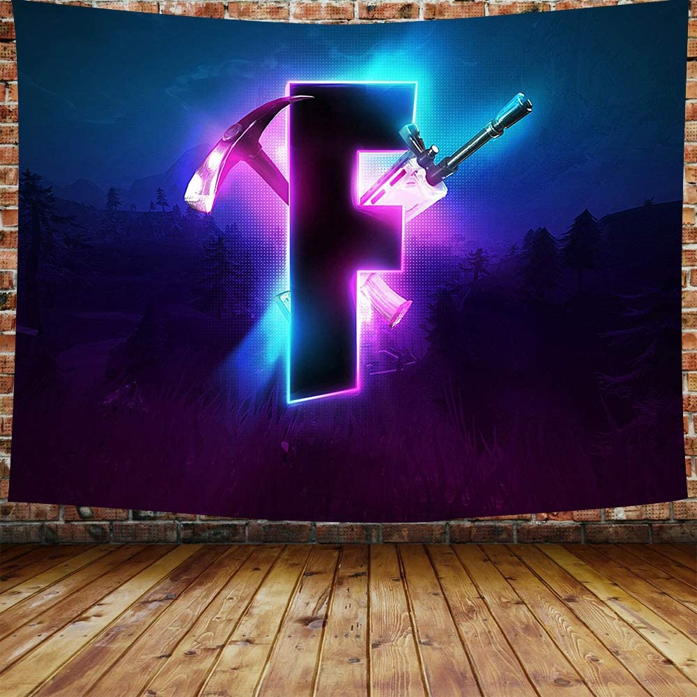 Ranking Limited price sale TOP6 DBLLF Game Tapestry Competitive Video Logo Battle