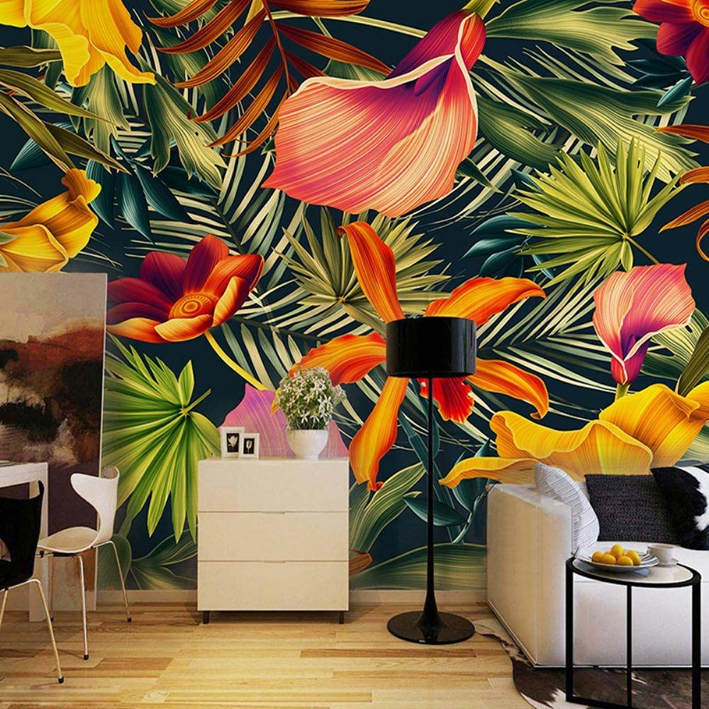 MAZF Custom Wall Cloth Southeast Forest shipfree Asian Colo NEW before selling Rain Tropical