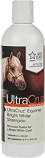UltraCruz Equine Bright White Horse Shampoo, 16 oz