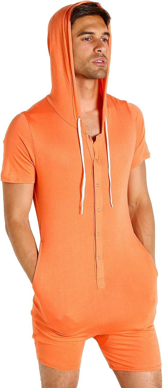 Go Softwear Body 2 Extreme Pocket Onesie Bodysuit Tangerine at  Men's Clothing store