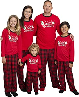 Matching Set Family Christmas Holiday Pajamas + Slipper...