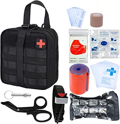 Wandern und Notfall Kits Surenhap /Überlebens Bracelet Tactical Tourniquet Kampf Anwendungs f/ür Blut-Stop Blutverlust Medizinische Notfall Tourniquet Erste-Hilfe-Reaktion