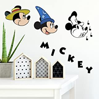 RoomMates Mickey Mouse Classic 90Th Anniversary Peel And Stick Wall Decals
