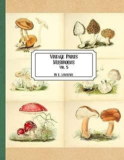 Vintage Prints: Mushrooms: Vol. 5