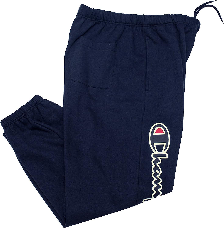 Champion Sweatpants for Men Big and Cotton Tall Japan's largest assortment San Antonio Mall Jogger Sw Fleece