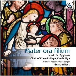 mater ora filium music for epiphany