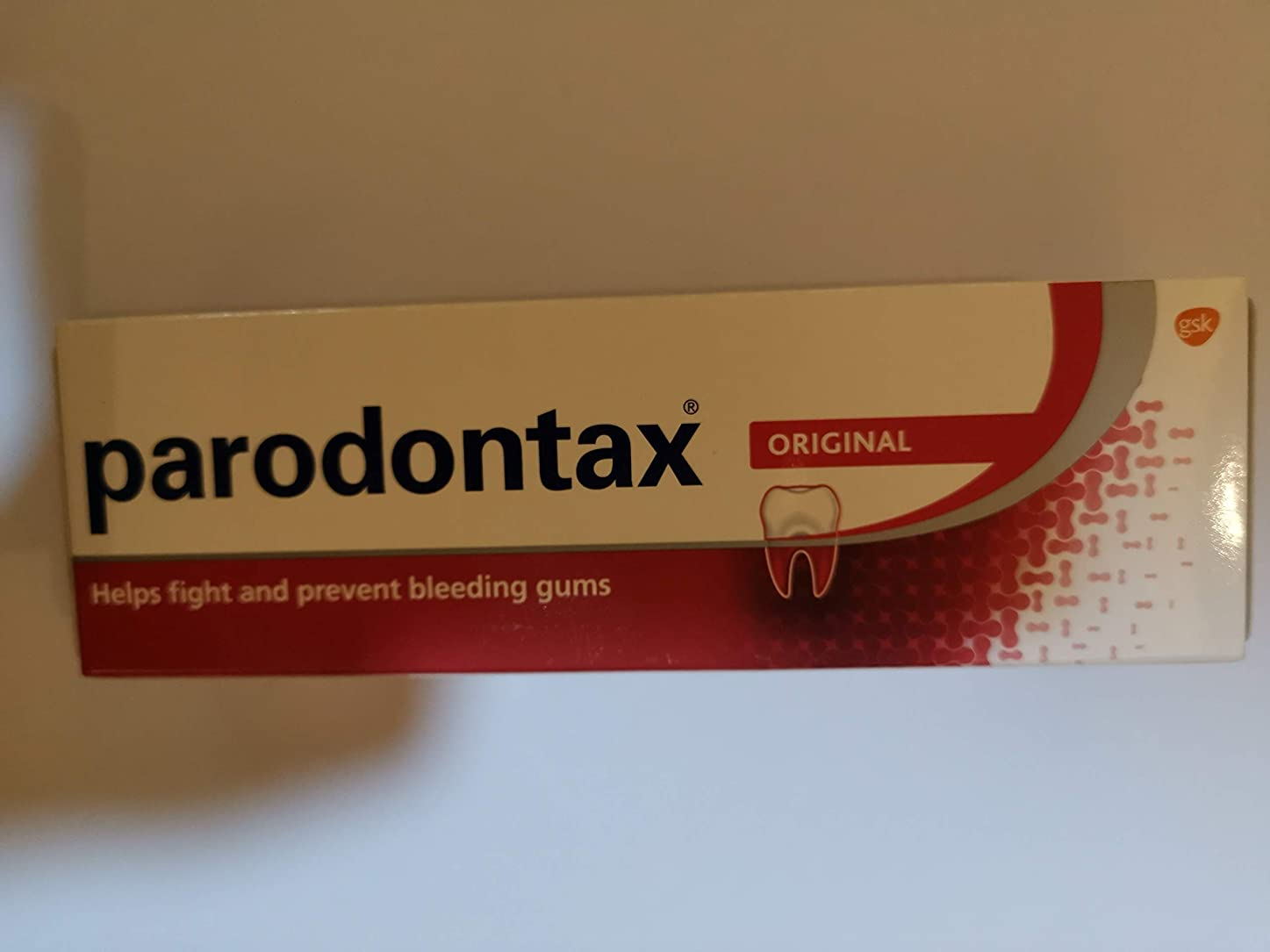 増強あたたかいアウトドアParodontax 一日あたりのフッ化物歯磨き粉(90グラム)フッ化物歯磨き粉の毎日は、歯垢の除去を助けると歯茎の出血を防ぐことができます