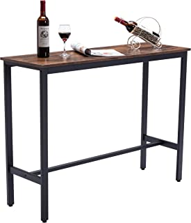"""47""""Bar Table, Dining Table High Table with Stable Metal..."""
