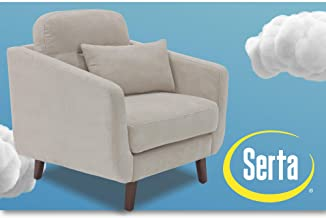 Serta Sierra Collection Arm Chair in Ivory