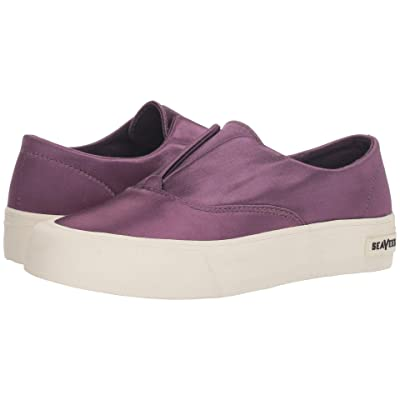 SeaVees Sunset Stripe Sneaker (Dark Violet) Women