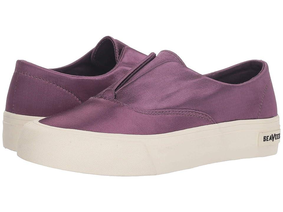 SeaVees Sunset Stripe Sneaker (Dark Violet) Women