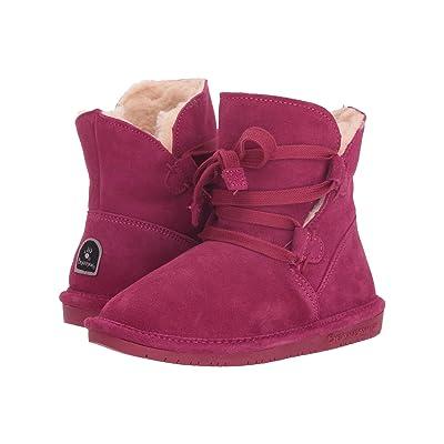 Bearpaw Kids Zora (Little Kid/Big Kid) (Pom Berry) Girls Shoes