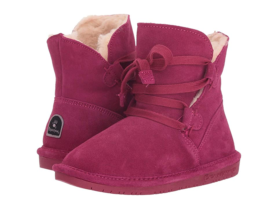 Bearpaw Kids Zora (Little Kid/Big Kid) (Pom Berry) Girls Shoes