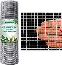 Amagabeli 1/4 Hardware Cloth 36 x 50 23Gauge Galvanized After Welded Wire Metal Mesh Roll Vegetables Garden Rabbit Fencing...