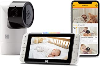 Kodak C525 Video Baby Monitor, with App and Two Way Talk, Comfort Your Baby, Elderly, Pets and Family from Anywhere, Whether You�re Home or Away