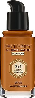 Max Factor Facefinity All Day Flawless, Liquid Foundation, 3 In 1, 098 Warm Hazelnut, 30 ml