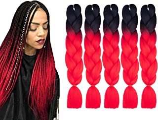 Best box braid extensions ombre Reviews