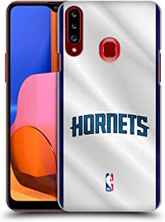 Official NBA Jersey Charlotte Hornets Hard Back Case Compatible for Samsung Galaxy A20s (2019)