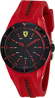 Ferrari Men's Analogue Quartz Watch with Rubber Strap 840005