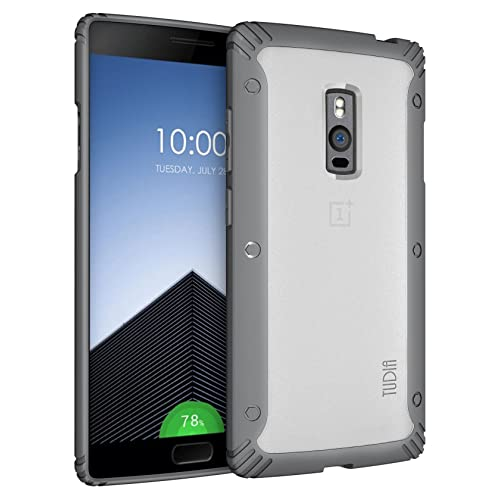 79778a3c2ae OnePlus 2 Case - TUDIA Scratch Resistant LUCION Lightweight Hybrid Matte  Back Panel Protective Cover for