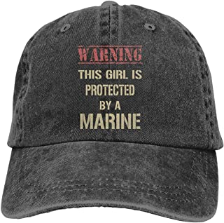 this girl is protected by a marine