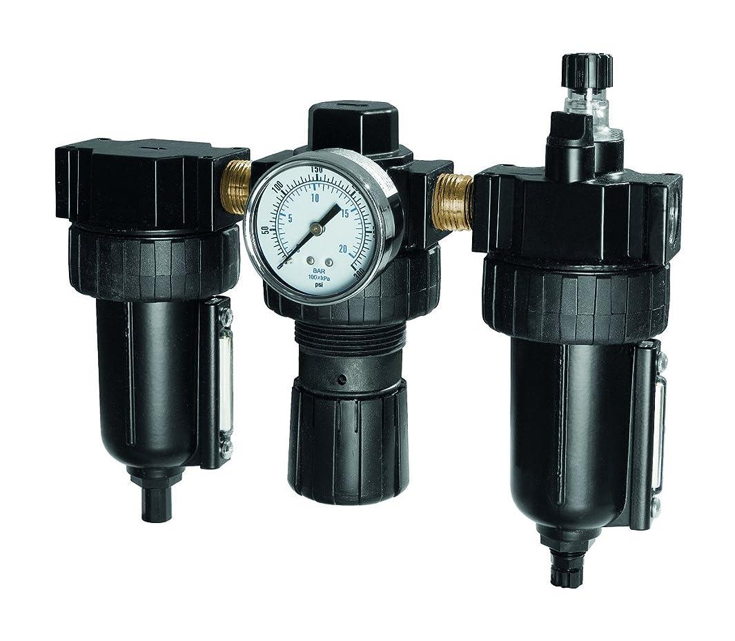 SAMSON 984 Filter, Regulator, Lubricator, 3 Piece Combo, 3/8