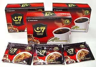 G7 pure black coffee, 3-pack, 45 Servings