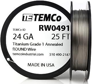 Best titanium wire coil Reviews