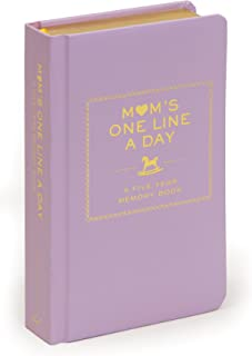 Mom s One Line a Day: A Five-Year Memory Book (New Mom Memory Book, Memory Journal for Moms, New Mom Gift Ideas)