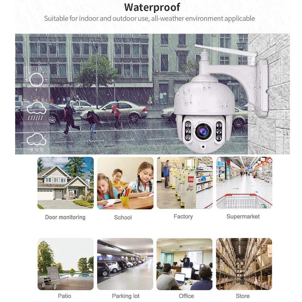 Cámara IP WiFi, cámara de Seguridad para el hogar Cámara de CCTV ...