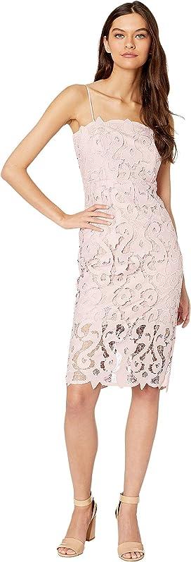 c72f71ba1501 ASTR the Label Lace A-Line Midi Dress at Zappos.com