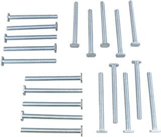 DCT Tee Bolt Set – 20 Pack 3-1/2in T Bolts for Woodworking, T Track Bolts Jig Bolts, 5/16in 18 Thread T Bolt
