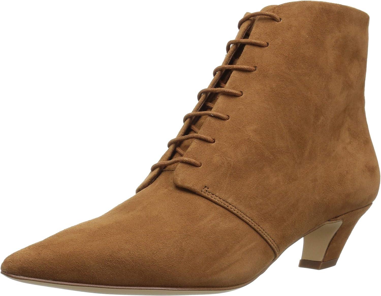 Nine West Womens Yendira Suede Ankle Boot