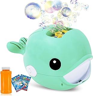 Biulotter Bubble Machine, Automatic Bubble Blower, Bubble Maker 2000+ Per Minute Bubble Machine for Kids, Easy to Use for ...