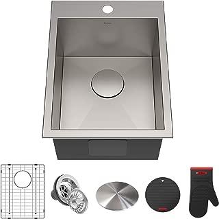 Kraus KP1TS15S-1 Pax Kitchen Sink, 15
