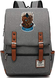 Hogwarts College Laptop Mochila, Ravenclaw Harry P Mochila, Potter Casual Travel Bag Grande Gris