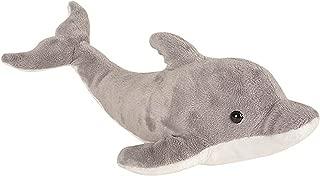 Wildlife Tree 14 Inch Dolphin Stuffed Animal Floppy Plush Species Collection