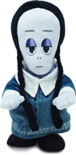 Cuddle Barn | Addams Family Animated Plush Collectible | Fun Walking Doll Toy for Movie Fans and Halloween | Plays The Addams Family Theme Song … (Wednesday Runner)