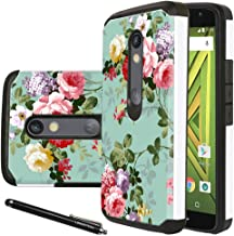 Moto X Play case, Droid Maxx 2 Case, Linkertech [Drop Protection] Shock Absorption Heavy Duty Defender Dual Layer Protector Hybrid Phone Case Cover for Motorola Moto Droid Maxx 2 / Moto X Play