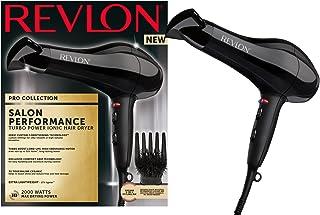 Revlon Pro Collection Salon Performance Turbo Ionic Super Ligero Secador de pelo, 2000 W