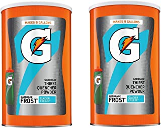 Gatorade Thirst Quencher Powder, Frost Glacier Freeze, 76 Ounce (2 Count)
