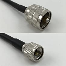 10 feet RFC195 KSR195 PL259 UHF Male to MINI UHF MALE Pigtail Jumper RF coaxial cable 50ohm High Quality Quick USA Shipping